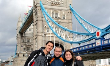 Nati por dentro da Tower Bridge