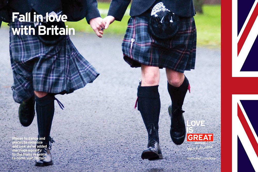Campanha Love is GREAT, do Visit Britain