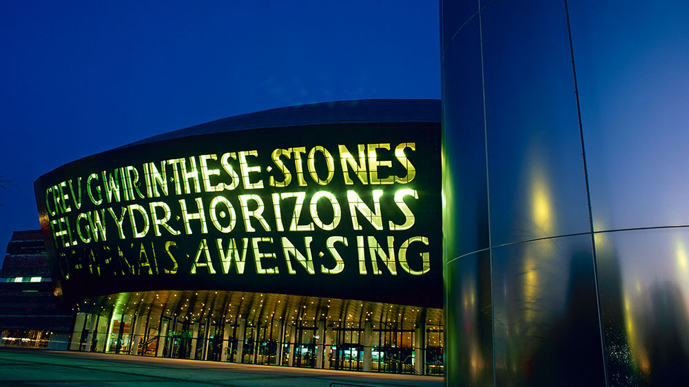 Wales Millenium Centre - Love is GREAT - Foto: Divulgação